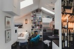 Modest Elegant Scandinavian Loft interior 7