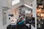Modest Elegant Scandinavian Loft interior 7