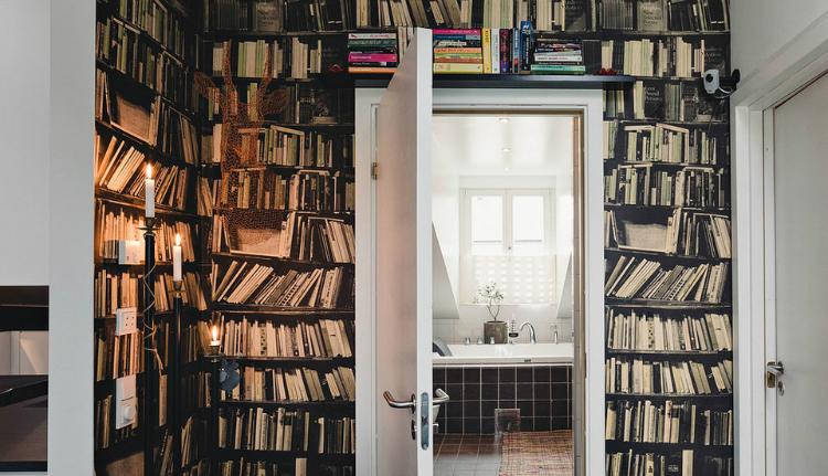 Modest Elegant Scandinavian Loft interior 8