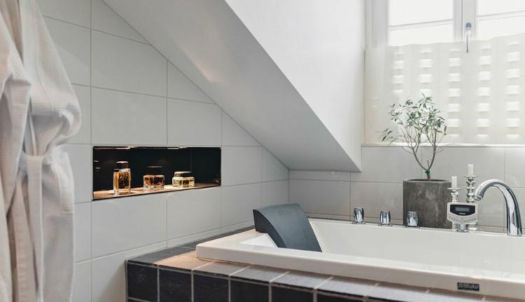 Modest Elegant Scandinavian Loft interior 9