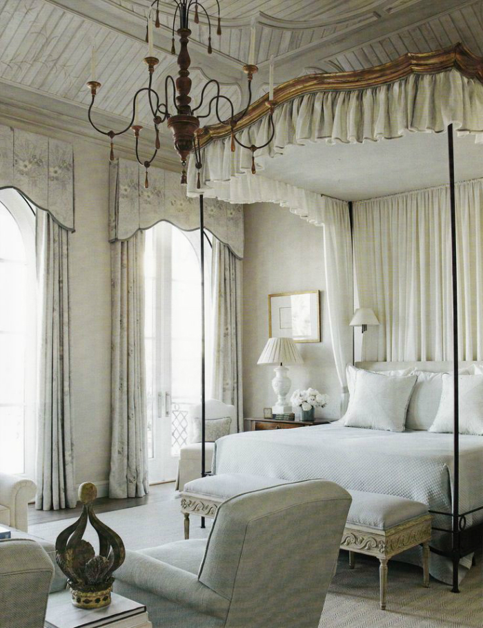 french Chateau Chic Bedroom Ideas 5