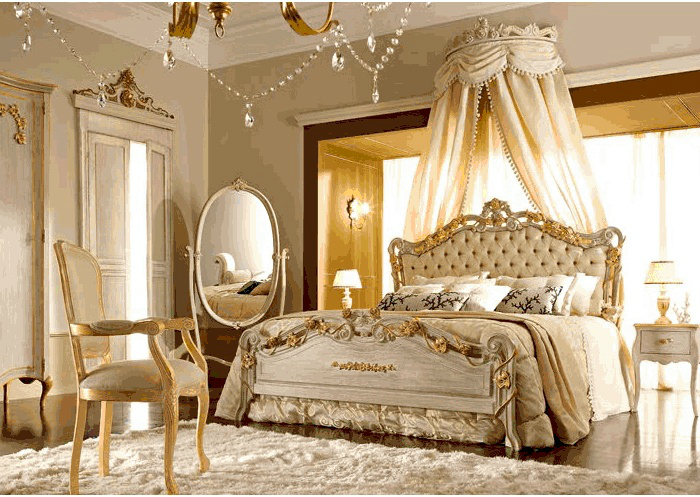 french Chateau Chic Bedroom Ideas 9