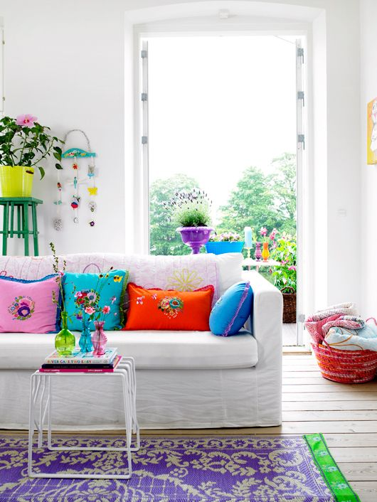 Easy ideas to Add Color to Your Home 2