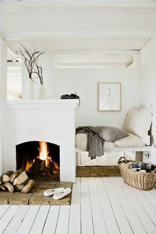 fireplace style design ideas 29