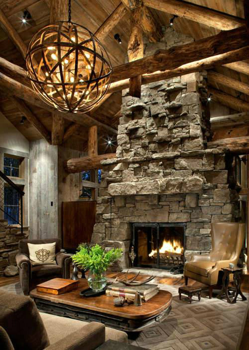 fireplace style design ideas 46