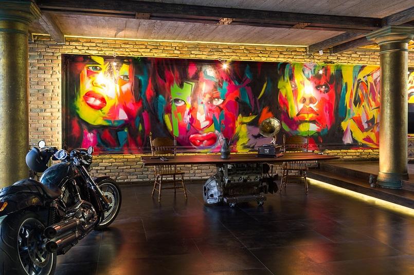 Harley Davidson Loft interior 11
