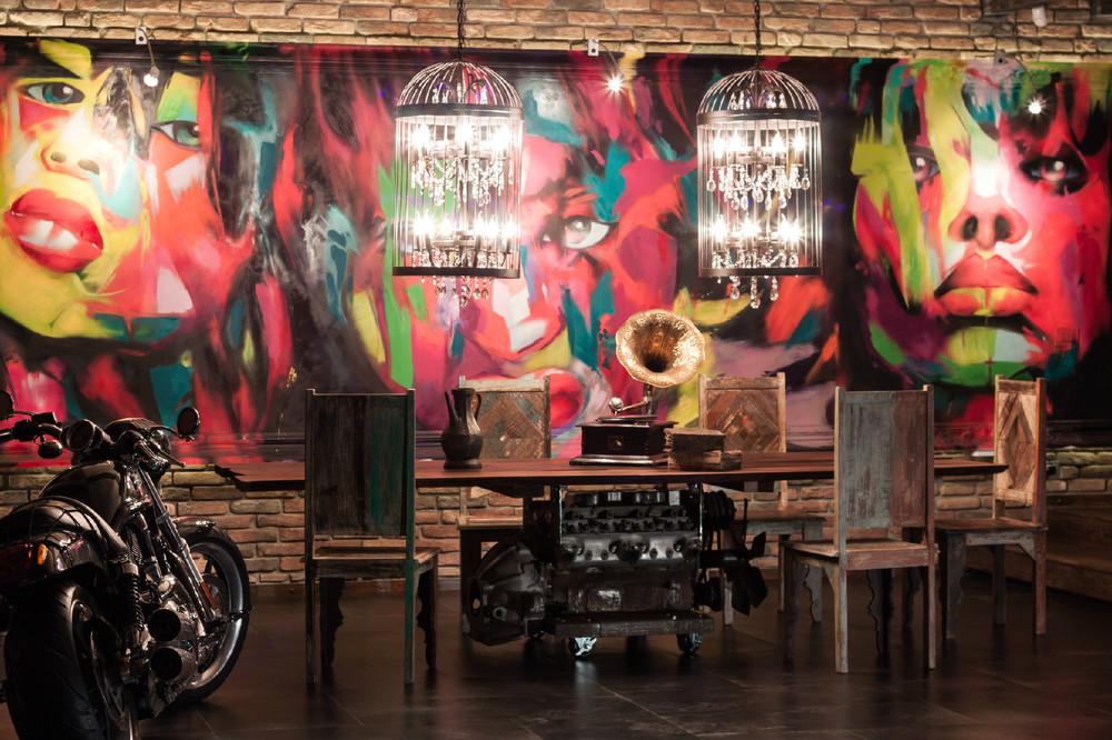 Harley Davidson Loft interior 8