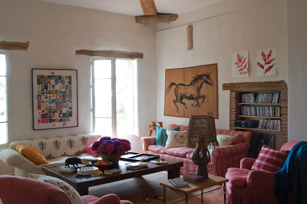 Interiors With Large Doses of Color and a Lack of Orthodoxy 51