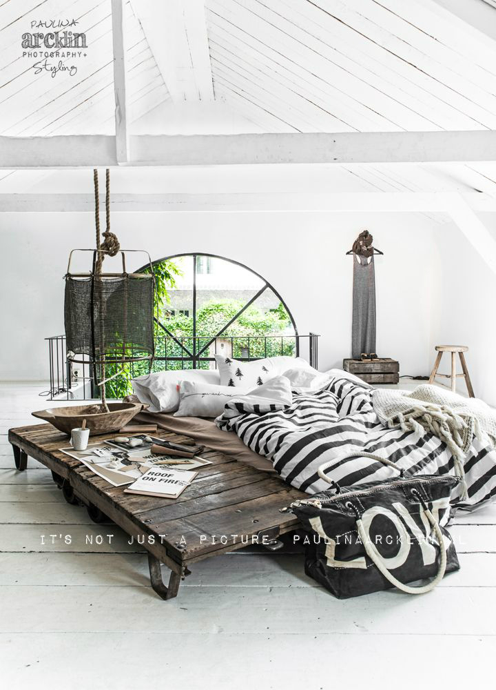 60 scandinavian interior design ideas to add scandinavian Industrial scandinavian bedroom