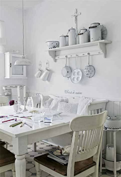 Shabby Chic Interior With Incredible Attention To Details 5
