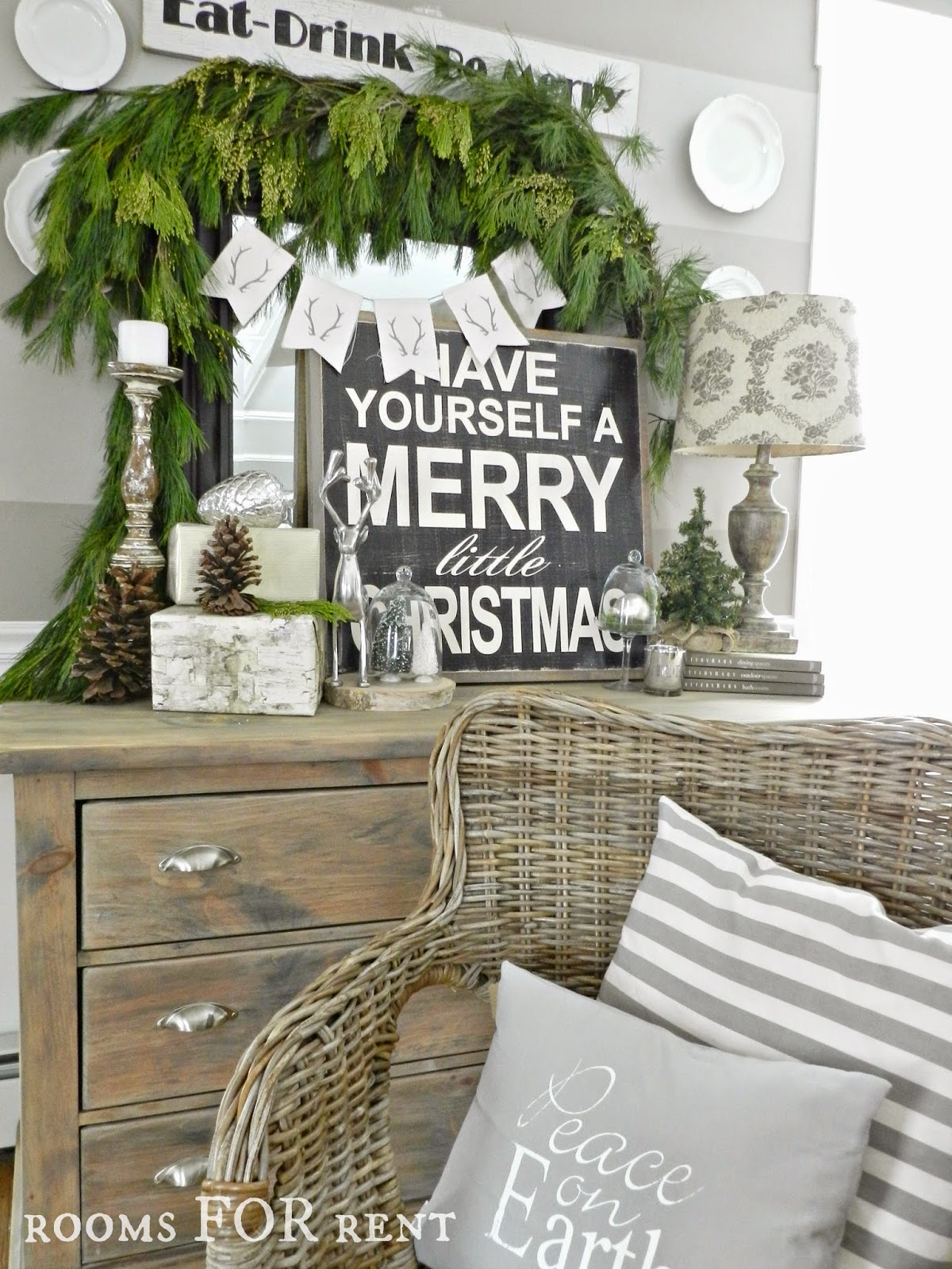 Stunning Christmas Country Home Tour 23