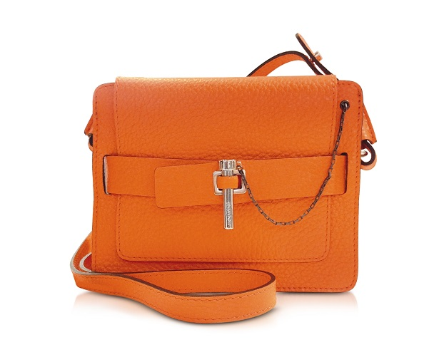CARVEN Orange Small Mahler Bag