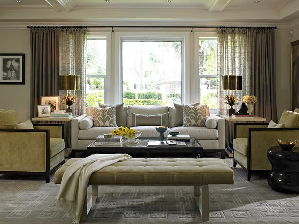 Fashionably elegant living room ideas decoholic - Elegant contemporary living rooms ...