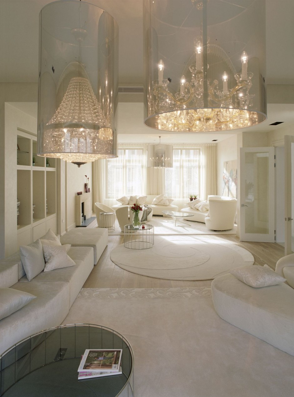 Fashionably elegant living room ideas decoholic Elegant home design ideas