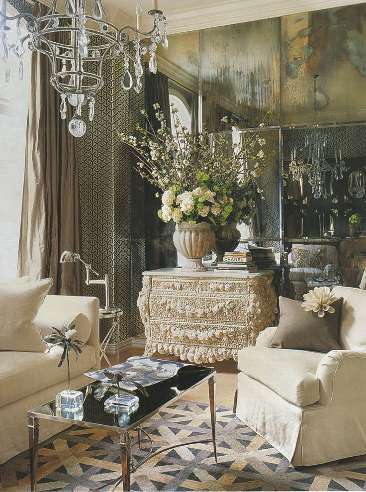 Fashionably Elegant Living Room Ideas 5