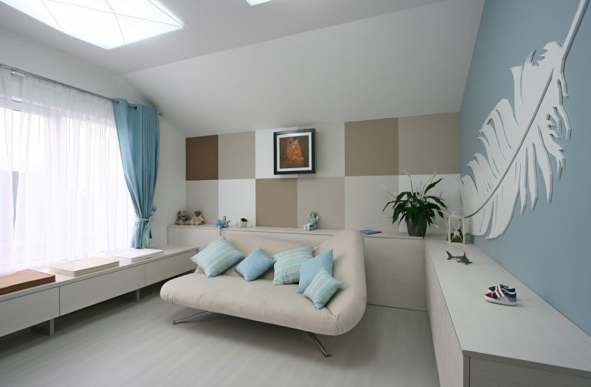 simple yet sleek and chic house - decoholic - Wohnzimmer Braun Beige Streichen