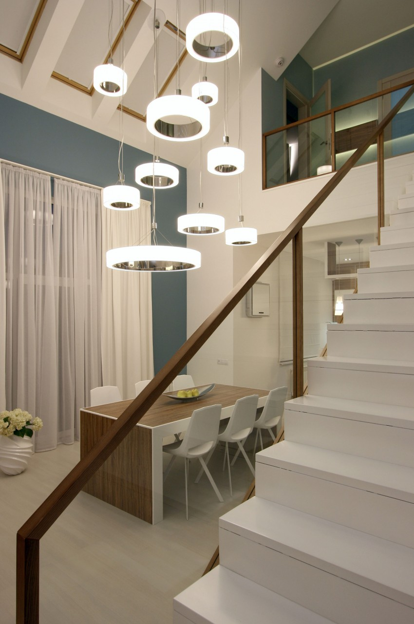 Simple Yet Sleek And Chic House interiors 7