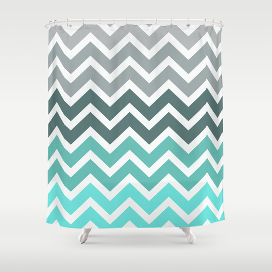 Chevron Shower Curtains top 20 shower curtains - decoholic