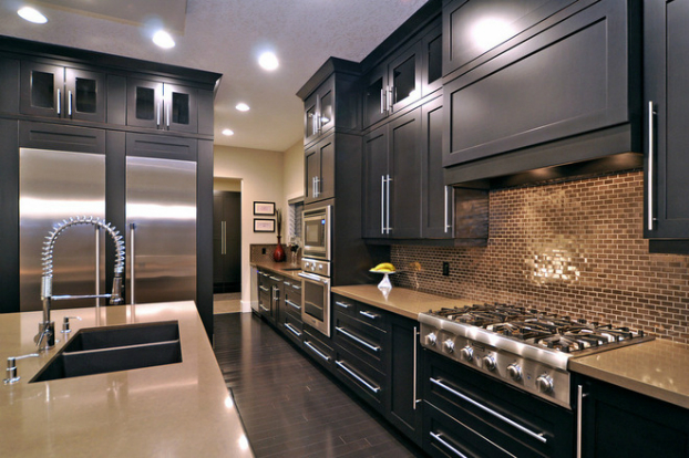 black kitchen design 11