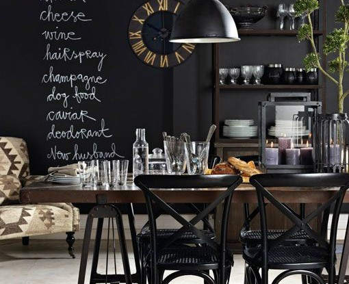 black kitchen design 14