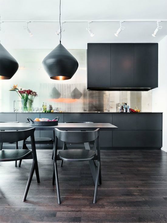 black kitchen design 15