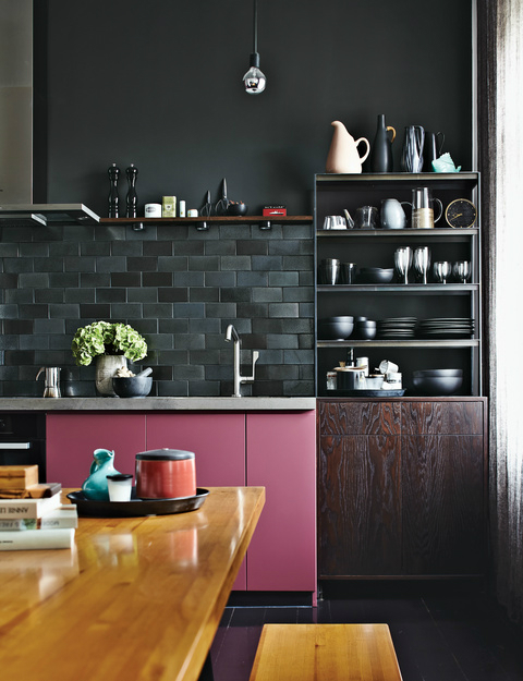 black kitchen design 17