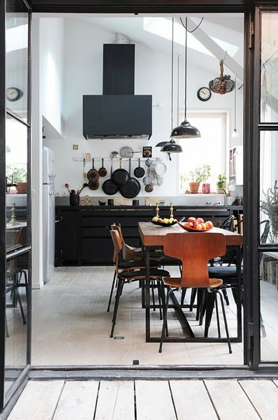 black kitchen design 18