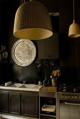 black kitchen design 20