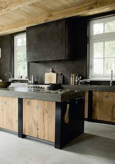 black kitchen design 21