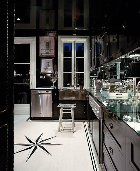 black kitchen design 22