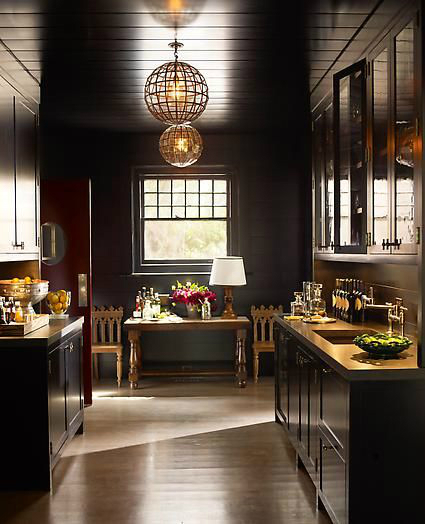 black kitchen design 24