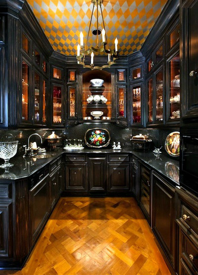 black kitchen design 29