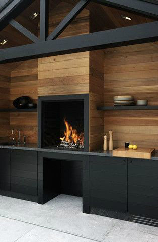 black kitchen design 33