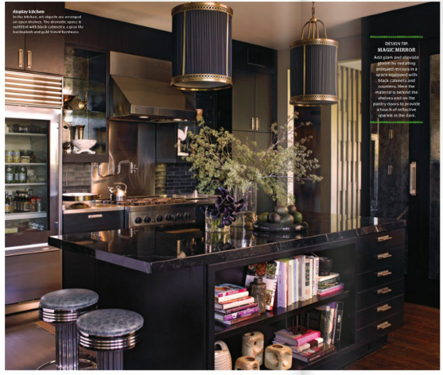 black kitchen design 34