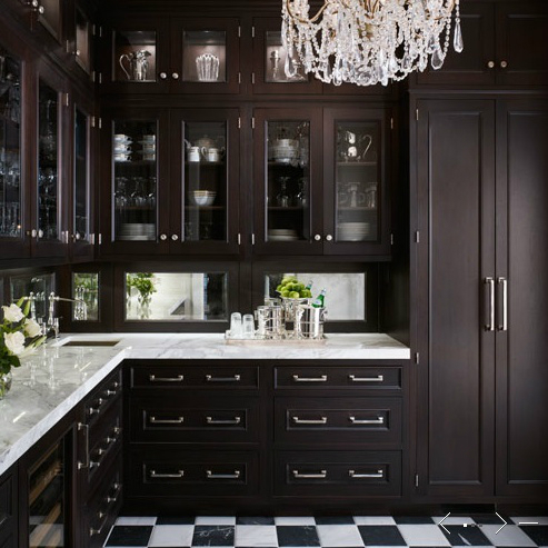 53 stylish black kitchen designs decoholic for Kitchen designs black