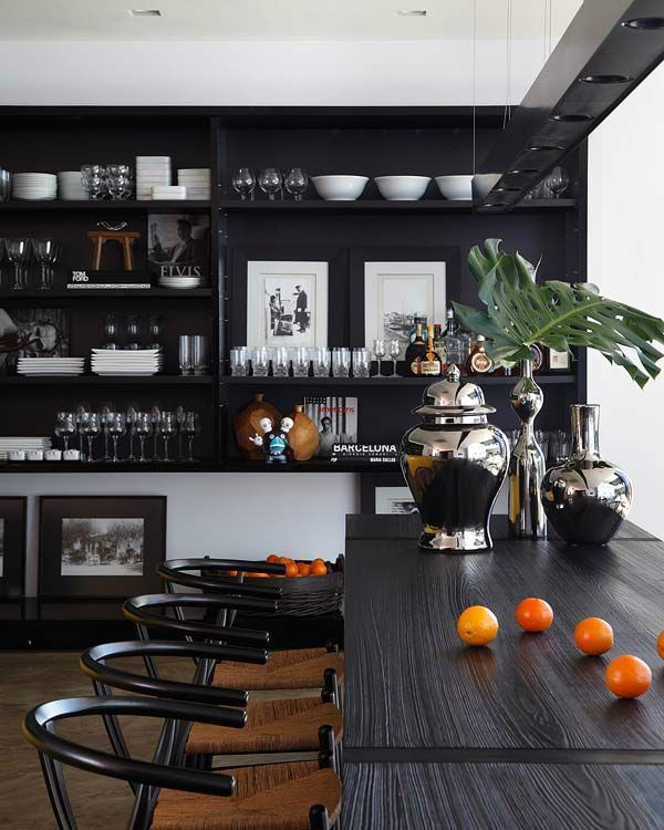 black kitchen design 36