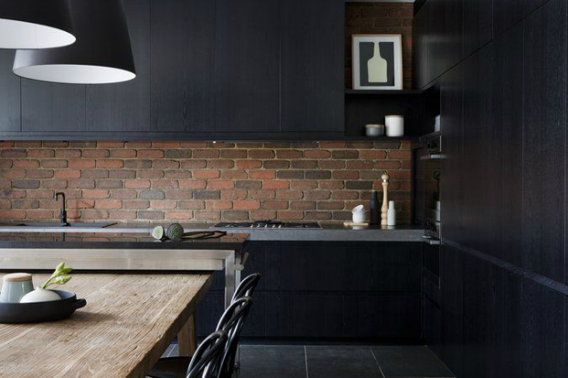 Kitchen Design Black 53 stylish black kitchen designs - decoholic