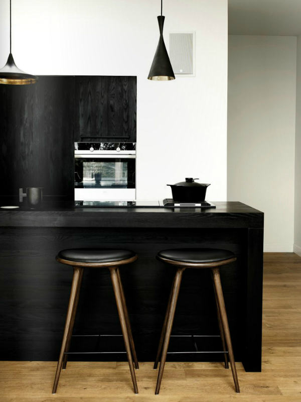 black kitchen design 8