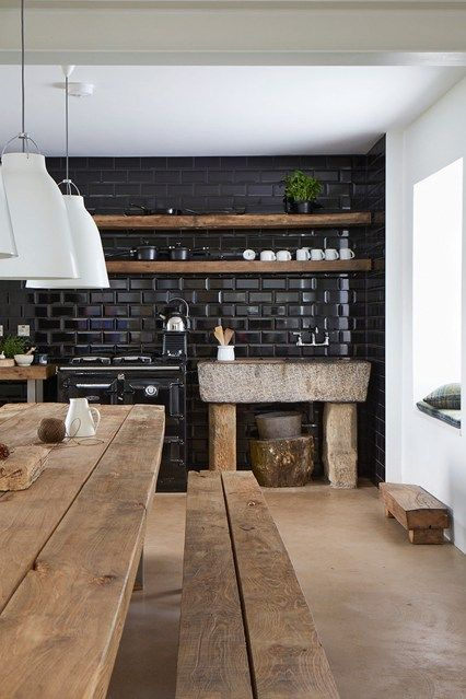 black kitchen design 38