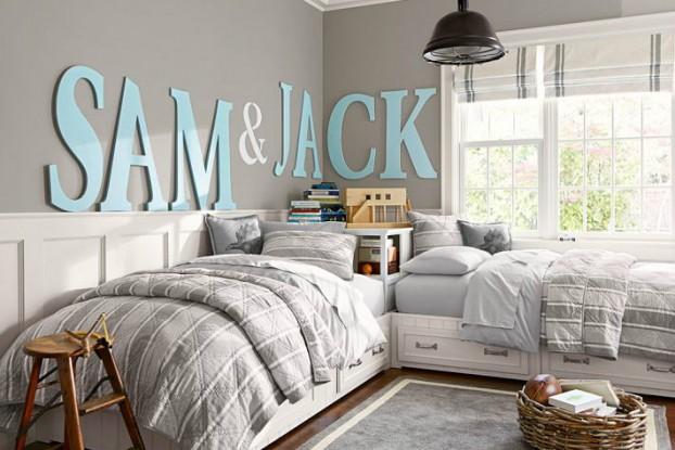 boys bedroom decrating idea wall decor