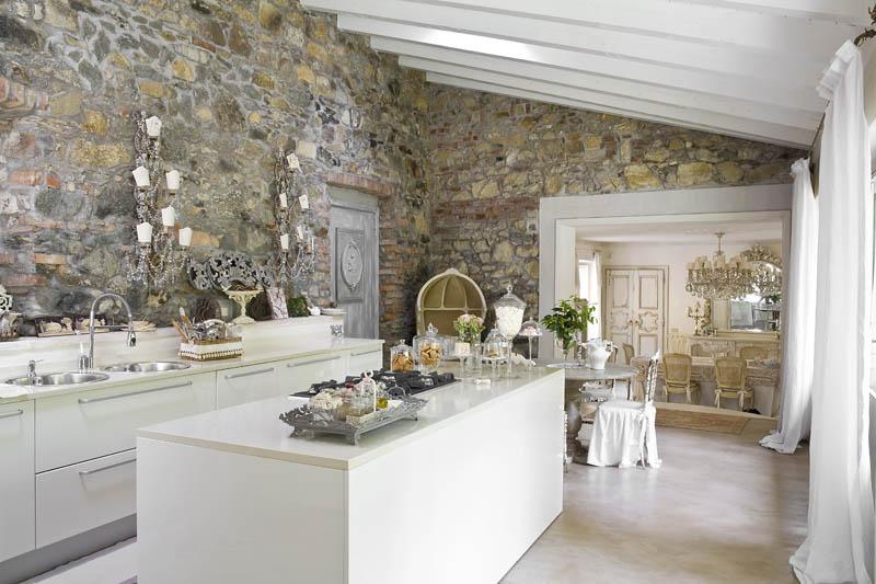 Rococo Louis XV and Shabby Chic interior design 14