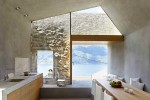 cave house contemporary stone interior