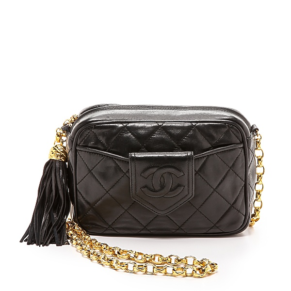 d2142687bc16 small chanel black crossbody bag with gold chain