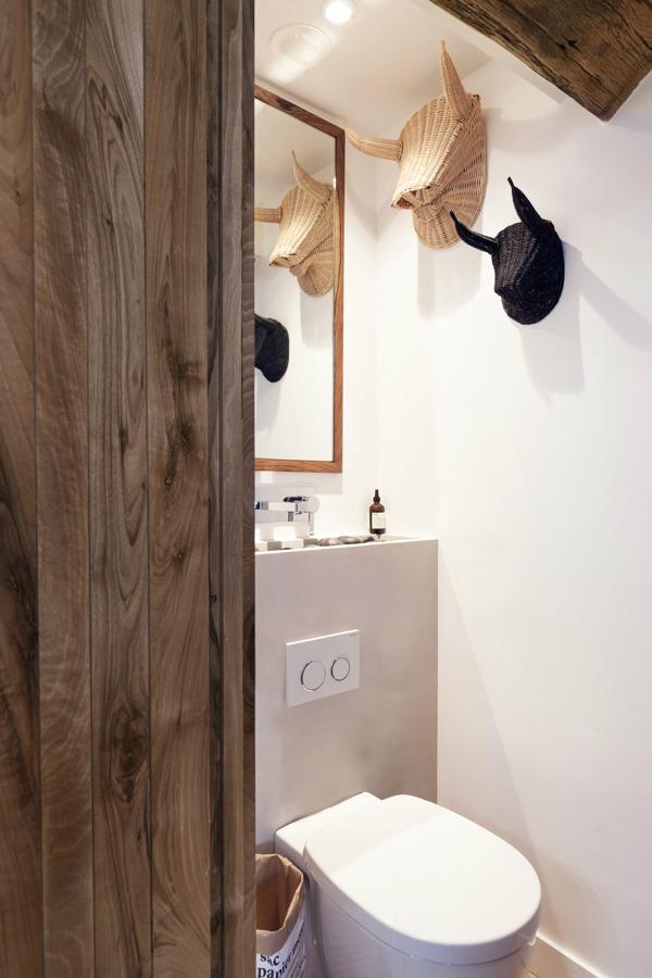 contemporary rustic bathroom 17