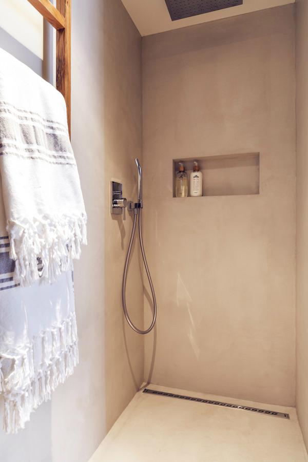 contemporary rustic bathroom 18