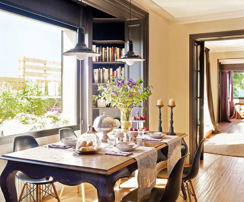 contemporary warm home interior 6