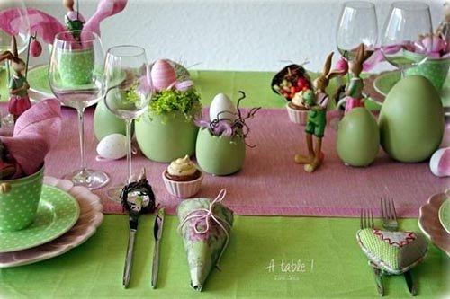 Easter Table Decorations 10