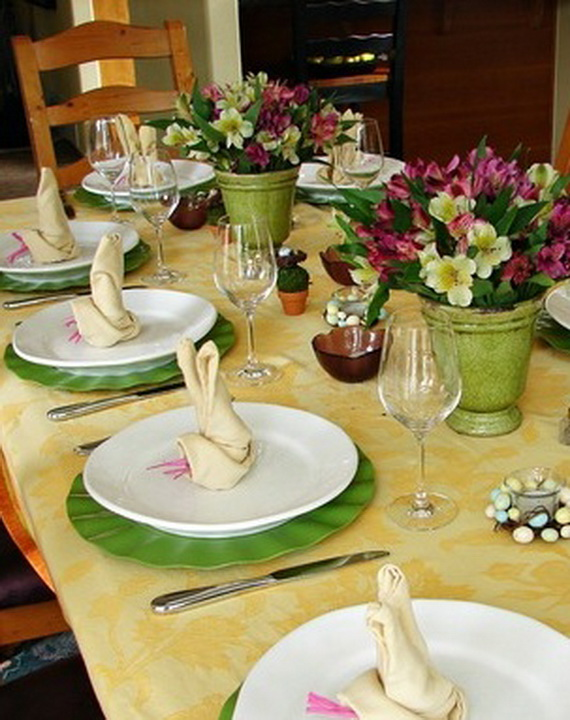 Easter Table Decorations 12