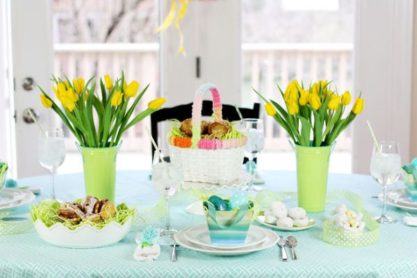 Easter Table Decorations 14