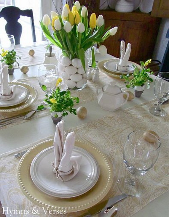 Easter Table Decorations 16